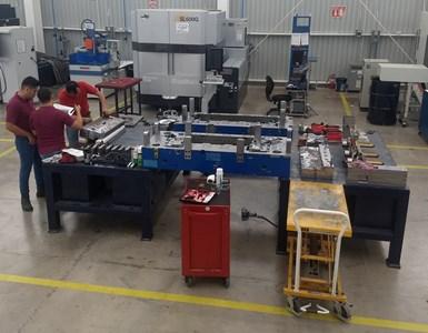 El Laboratorio inició operaciones formalmente este año y, según sus datos de operación, a la fecha han atendido cerca de 52 servicios entre cambios de ingeniería y de mantenimiento. Crédito: CIATEQ.