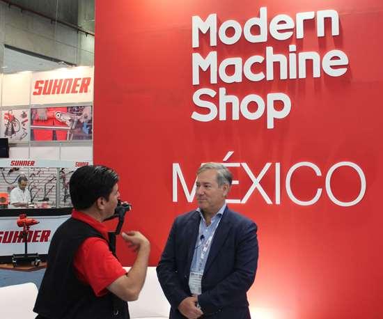 Eduardo Tovar, director editorial de Modern Machine Shop México lleva25 añostrabajando en el sector metalmecánico.