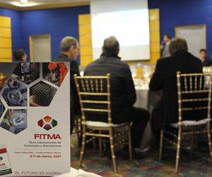En febrero se realizó la prestentación de FITMA ante empresariosy comunidad manufacturera de Monterrey.