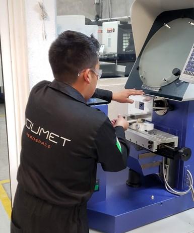 Indumet Aerospace produce todo tipo de componentes para la industria aeroespacial.