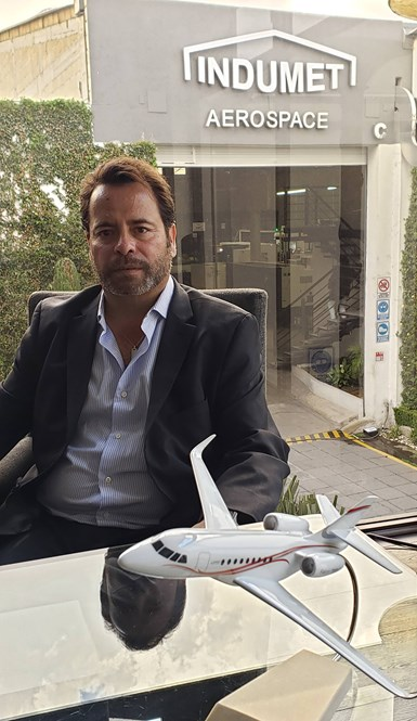 Rodolfo Martínez, Director de Indumet Aerospace.