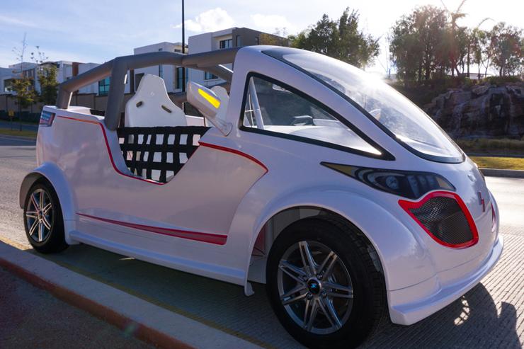 Entre los principales atractivos de este concepto de automóviles eléctricos está el de ser ensamblados en el mismo chasis, es decir, el chasis es modulable y en el mismo se pueden montar los diferentes cuerpos, de acuerdo con el mercado y la función.