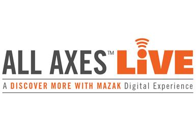 All Axes LIVE, de Mazak.