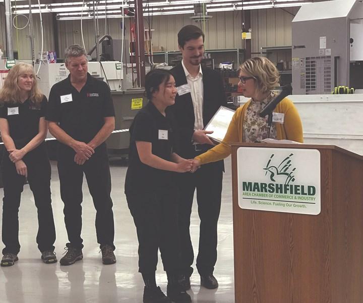 Hastreiter Industries gana premio de Empleador Ejemplar