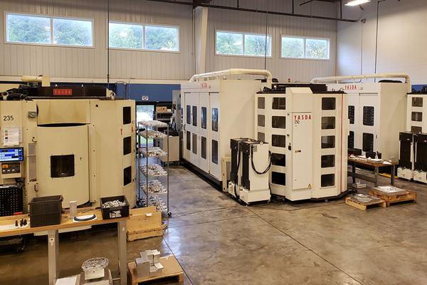 Máquinas de múltiples pallets ayudan a producir componentes de ventiladores image