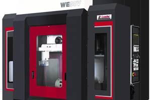 Centro de mecanizado vertical WE30V, de Enshu.