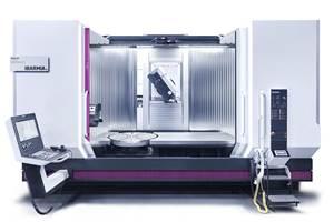 Máquina multitarea para fresado y torneado ZVH 55/L2200, de Ibarmia.