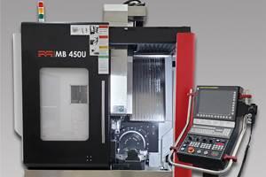 Centro de mecanizado tipo puente MB 450U, de Methods Machine Tools.