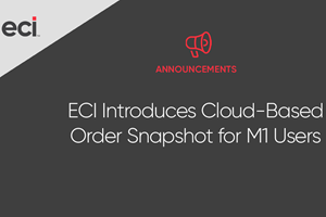 Order Snapshot, de ECI Software Solutions.