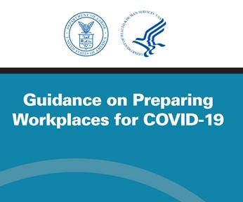 Guía OSHA para preparar los lugares de trabajo frente al COVID-19.