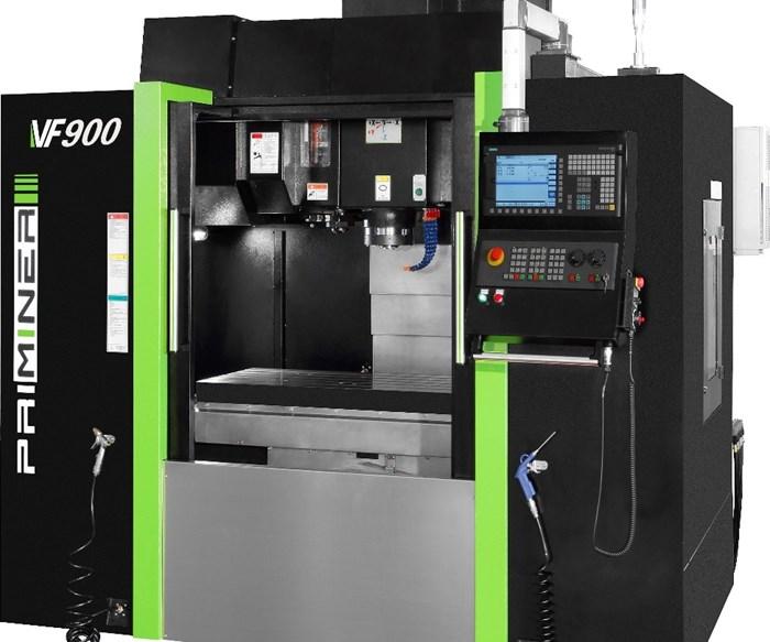 Centro de mecanizado vertical modelo VF-900, marca Priminer, en Amero Precision.