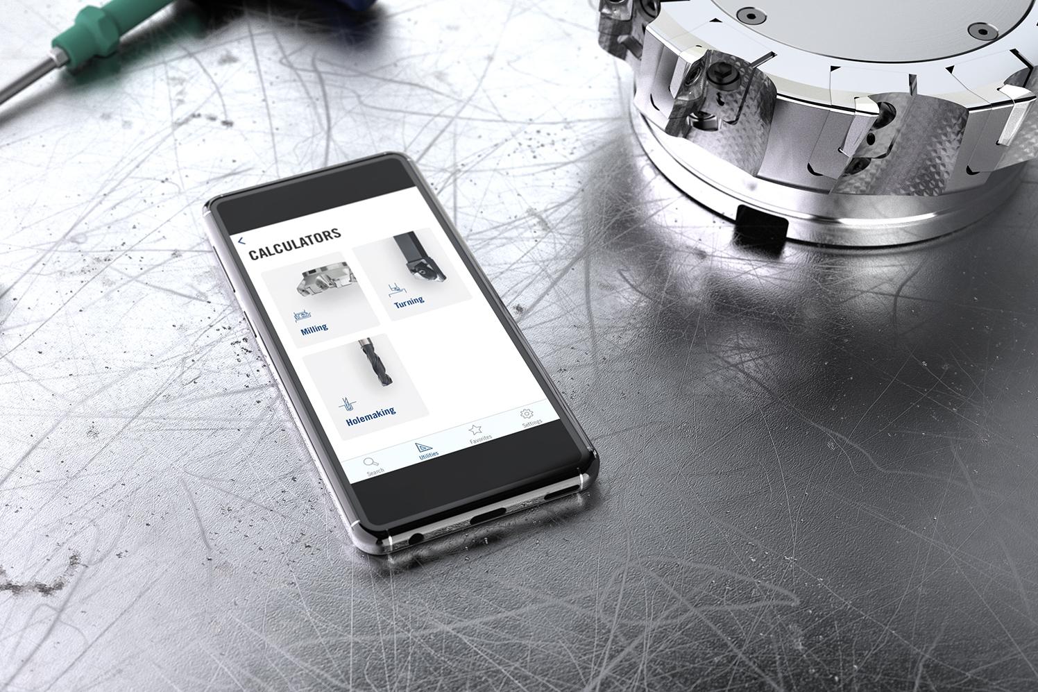 Nueva aplicación Seco Assistant, de Seco Tools. Crédito:Seco.