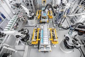 La automatización se abrirá paso en más y más áreas: Kukaya está implementando una de las instalaciones de producción más modernas para sistemas de baterías en cooperación con Webasto.