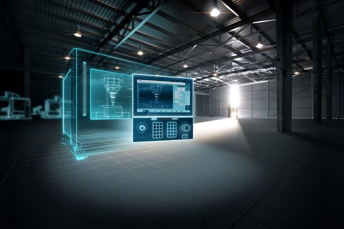 Siemens ha desarrollado una familia de gemelos digitales que permite el mapeo virtual de toda la máquina-herramienta, desde su mecánica y respuesta hasta su control.