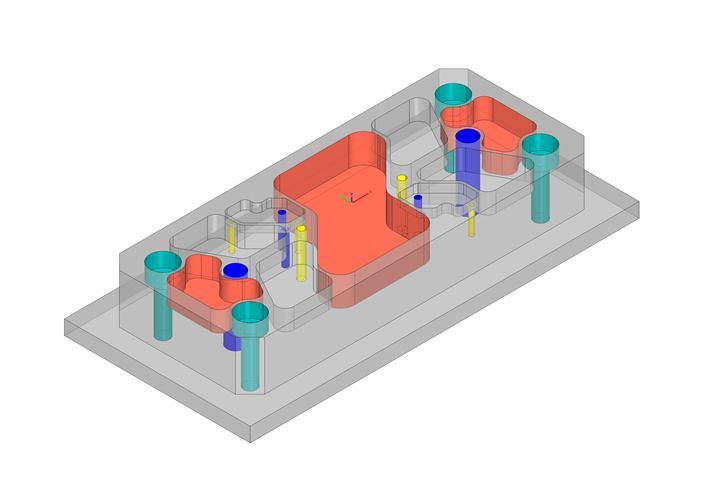 El Centro de Automatización de hyperMILL permite a los usuarios automatizar la programación de componentes simples por su cuenta.