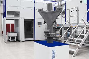 Safran y SLM Solutions evalúan fusión selectiva por láser para producir un componente de avión