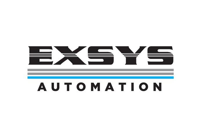 Logo de EXSYS Automation.