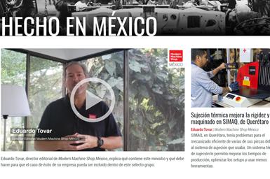 """Su taller también puede ser parte de """"Hecho en México"""", el espacio que creó Modern Machine Shop México para destacar al sector metalmecánico mexicano."""