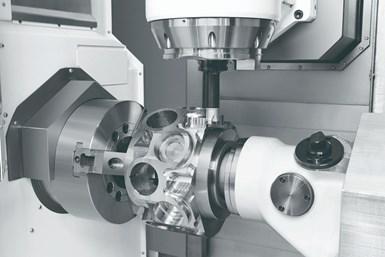 Lo más importante es que los motores de husillo integrales introdujeron la capacidad de contornear con un husillo de torneado de eje C.