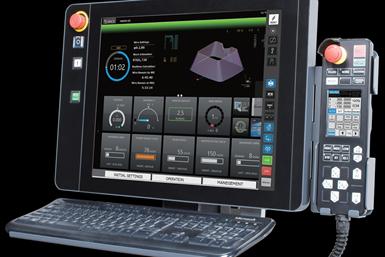Mitsubishi ofrece el sistema MC Remote 360 que, entre otros, supervisa el mantenimiento, registros de trabajo, consumo de los consumibles y productividad.