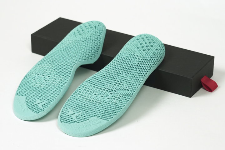 3D printed shoe insoles