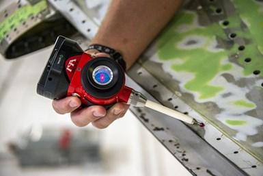 API vProbe tactile measuring sensor