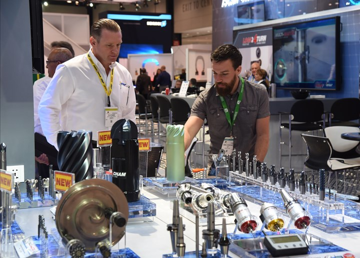 Cutting Tools on display at IMTS 2018