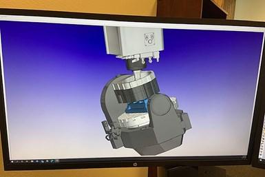 La suite de software HyperMill CAM, de Open Mind Technologies, permite una amplia gama de estrategias de mecanizado de cinco ejes.