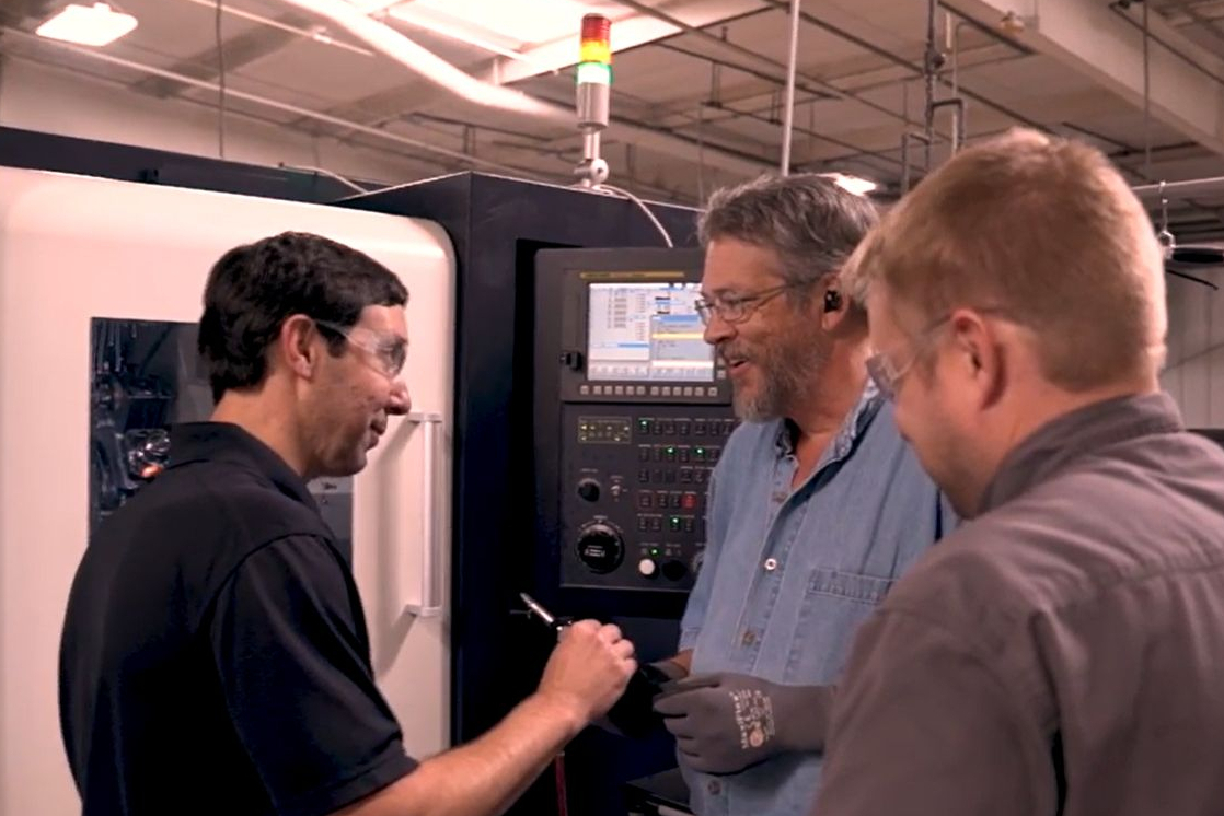employees at Trinity Precision