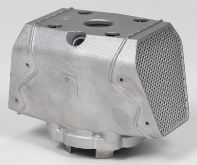 cylinder design realized through additive manufacturing