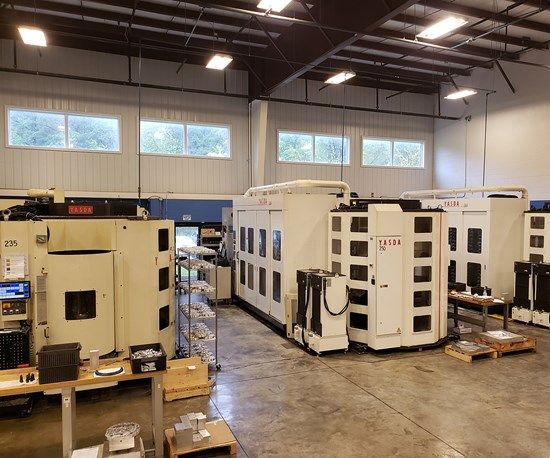 Multi-Pallet Machines Help Shop Produce Ventilator Components