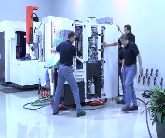 Air Casters Keep Shop Floors Damage-Free