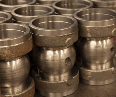 parts machined at Ketchie