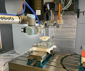 Video: Hurco Machining Center Adapted Into N95 Mask Production System