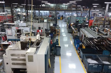 Mega Industries Inc. shopfloor