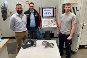Al optimizar los procesos de mecanizado diarios, Rainer Maurer, Alexander Hartl y Dennis Heil han aumentado la eficiencia en SM Metallbau.