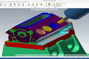 CNC Machining and Manufacturing Students Find CAM Software Intuitive