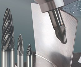 Emuge's Circle Segment End Mills Shorten Five-Axis Cycle Times