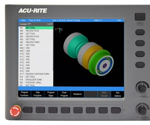 Acu-Rite Turnpwr Control Improves Two-Axis Turning Productivity