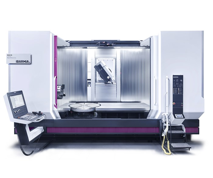 Ibarmia's ZVH 55 L2200 Enables Horizontal, Vertical Turning, Milling