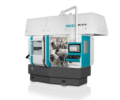 Index's MS32-6 six-spindle automatic lathe