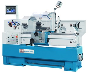 Knuth's Servoturn 410 NC Lathe Provides Secure Construction