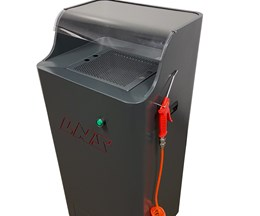 LNS America's Spray Cabin Isolates Contaminants While Cleaning Parts