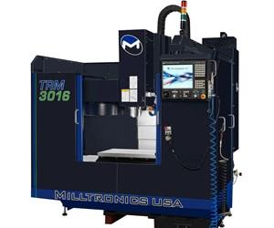 Milltronics TRM3016 Toolroom Mill Offers Large Travels