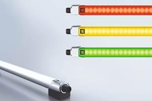 Waldmann's Linura-Edge Lighting Displays Machine, Process Status