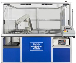 Bel Air's AutoHone Uses Robot Arm to Insert, Remove, Clean and Dry Parts