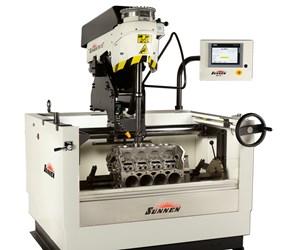 Sunnen's SV-15 Honing Machine Features Tourchscreen PLC