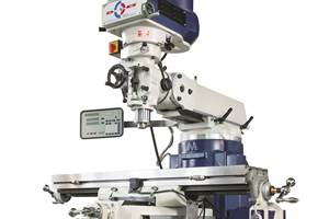 Palmgren Launches Deluxe Vertical Turret Milling Machine