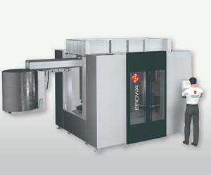 Erowa's Robot Easy 800 Transfers Workpieces Weighing 1,760 lbs