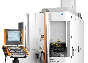 GF Machining Solutions' Mikron HSM 200U LP Designed for Small Medical Shops